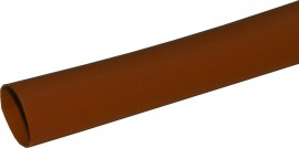 3mm Electrical PVC Sleeving - Brown