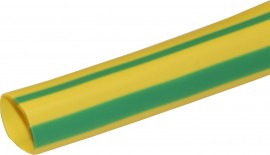 4mm Electrical PVC Sleeving - Earth