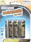 NI-MH AA Ni-MH - Rechargeable batteries (4)